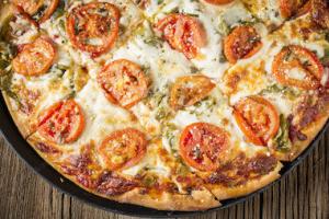 The Veggie Pizza - delivery menu