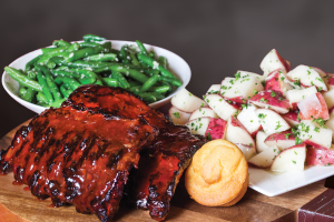 Full Rack Baby Back Ribs - delivery menu