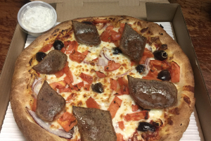 18. Greeko Special Pizza - delivery menu