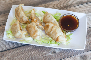 A4. Pot Stickers - delivery menu