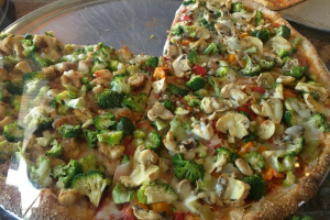 Vegetable Pizza - delivery menu