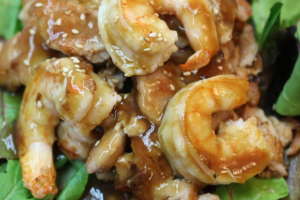 4. Chicken and Shrimp Teriyaki - delivery menu
