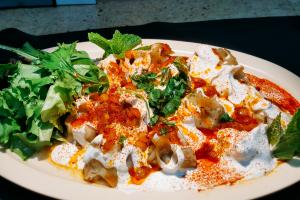 Mantu Meat Dumplings - delivery menu