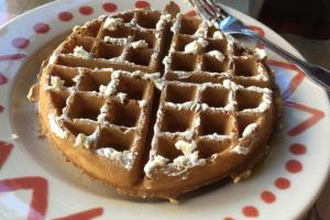 Crisp Belgian Waffle - delivery menu