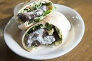 Beef Shawarma Pita Roll - delivery menu