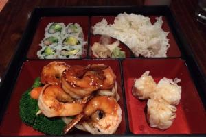 Shrimp Teriyaki Lunch Bento Box - delivery menu