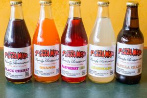 All Natural Soda - delivery menu