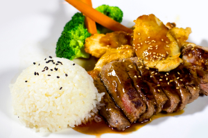 Steak and Chicken Teriyaki - delivery menu