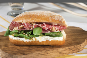 Deluxe Spiced Ham Sandwich - delivery menu