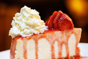 3. Strawberry Cheesecake - delivery menu