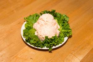 1 lb. Baked Salmon Salad - delivery menu