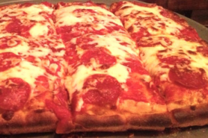 1-Topping Sicilian Pizza - delivery menu