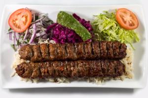 Adana Kebab Plate - delivery menu