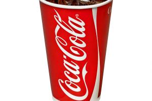 Coke Can - delivery menu