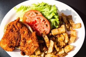 Boneless Chicken Sandwich - delivery menu