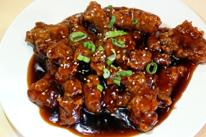54. Shanghai Style Pork Chop with Sugar and Vinegar in Brown Sauce  and Vinegar in Brown Sauce - delivery menu