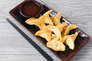 2. Crab Rangoon - delivery menu