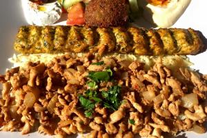 Kifta Chicken and Chicken Shawerma Lunch - delivery menu