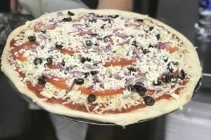 Greek Pizza - delivery menu
