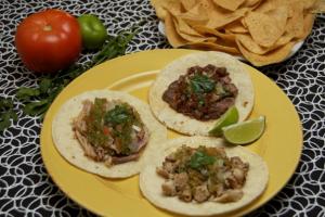 1. Regular Soft Taco - delivery menu