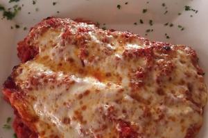 Manicotti - delivery menu