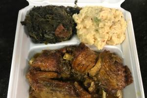 3 Turkey Wings Dinner - delivery menu