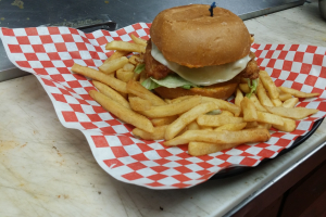 Crispy Chicken Burger - delivery menu