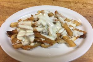 Mozzarella Cheese Fries - delivery menu