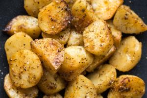Greek Herb Lemon Potatoes - delivery menu