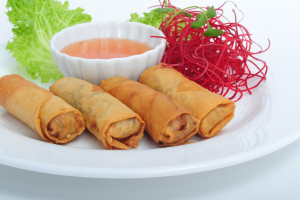 4 Thai Veggie Rolls - delivery menu