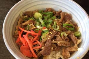 Gyu Don - delivery menu