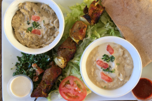 Chicken Shish Kabob Plate - delivery menu