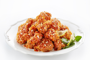 Secret Spicy Sauce Mixed Fried Chicken 시크릿매운양념치킨 - delivery menu