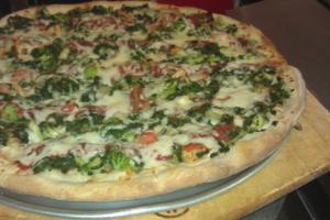 Tony's Veggie Pizza - delivery menu