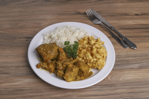 Curried Chicken Dinner Combo - delivery menu
