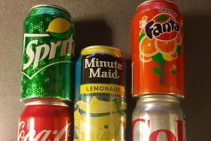Soda - delivery menu