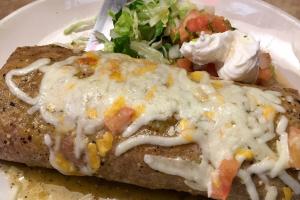 Breakfast Machaca Burrito - delivery menu