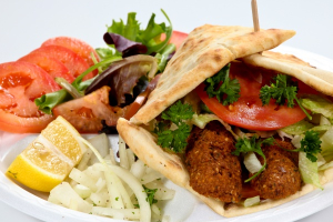 16. Falafel Wrap - delivery menu