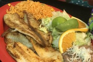 #50. Filete de Pescado - delivery menu