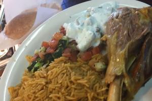 Lamb Mendi Plate - delivery menu