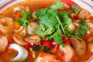 Tom Yum Chicken Soup - delivery menu