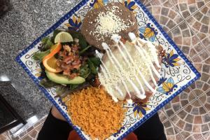 # 35. Enchiladas de Pollo - delivery menu