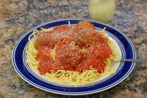 Spaghetti sauce - delivery menu