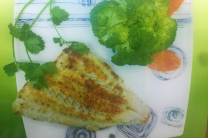 19. Fillet of Blue Snapper - delivery menu