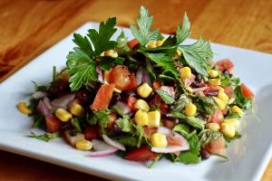 Black bean salad  - delivery menu