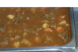 Beef Stew with Rice or Mash - delivery menu