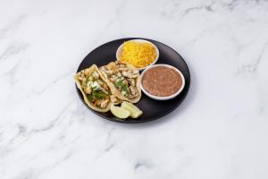 3 Pollo Tacos  - delivery menu