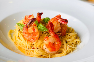 Skinny Garlic Shrimp Angel Hair - delivery menu