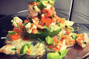 Shrimp Stuffed Avocado - delivery menu