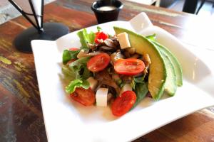 Maitake mushroom salad - delivery menu